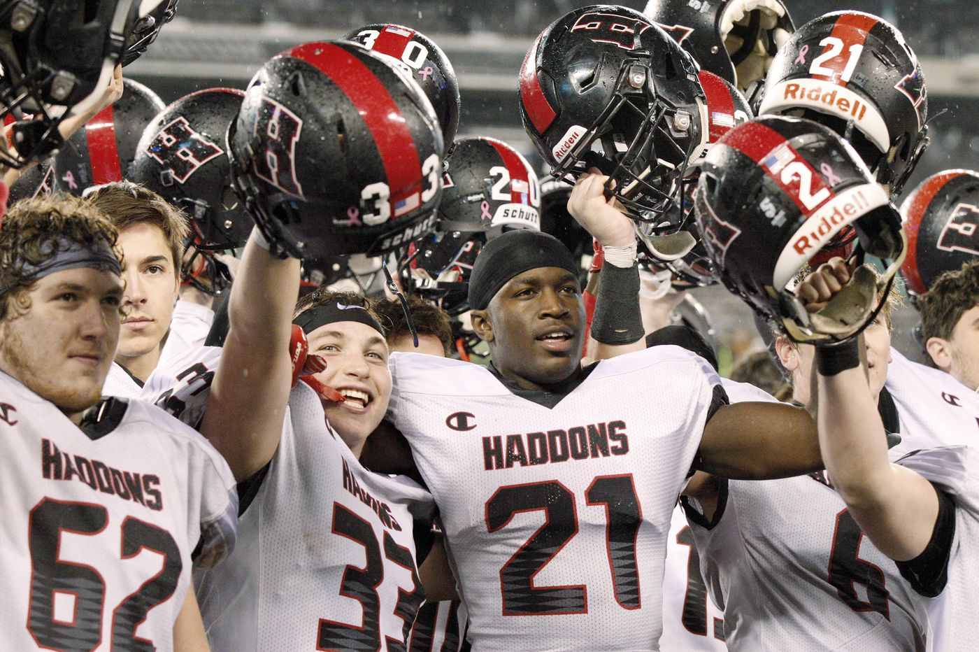 Haddonfield football finishes No. 1 in final rankings