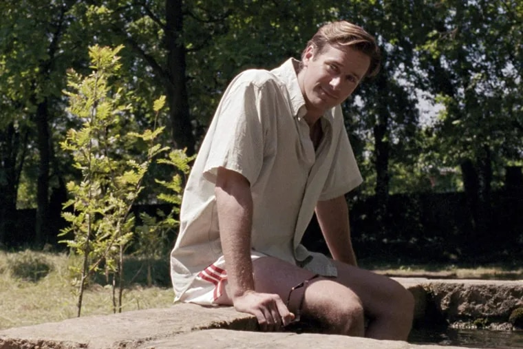 """Armie Hammer in """"Call Me By Your Name."""""""