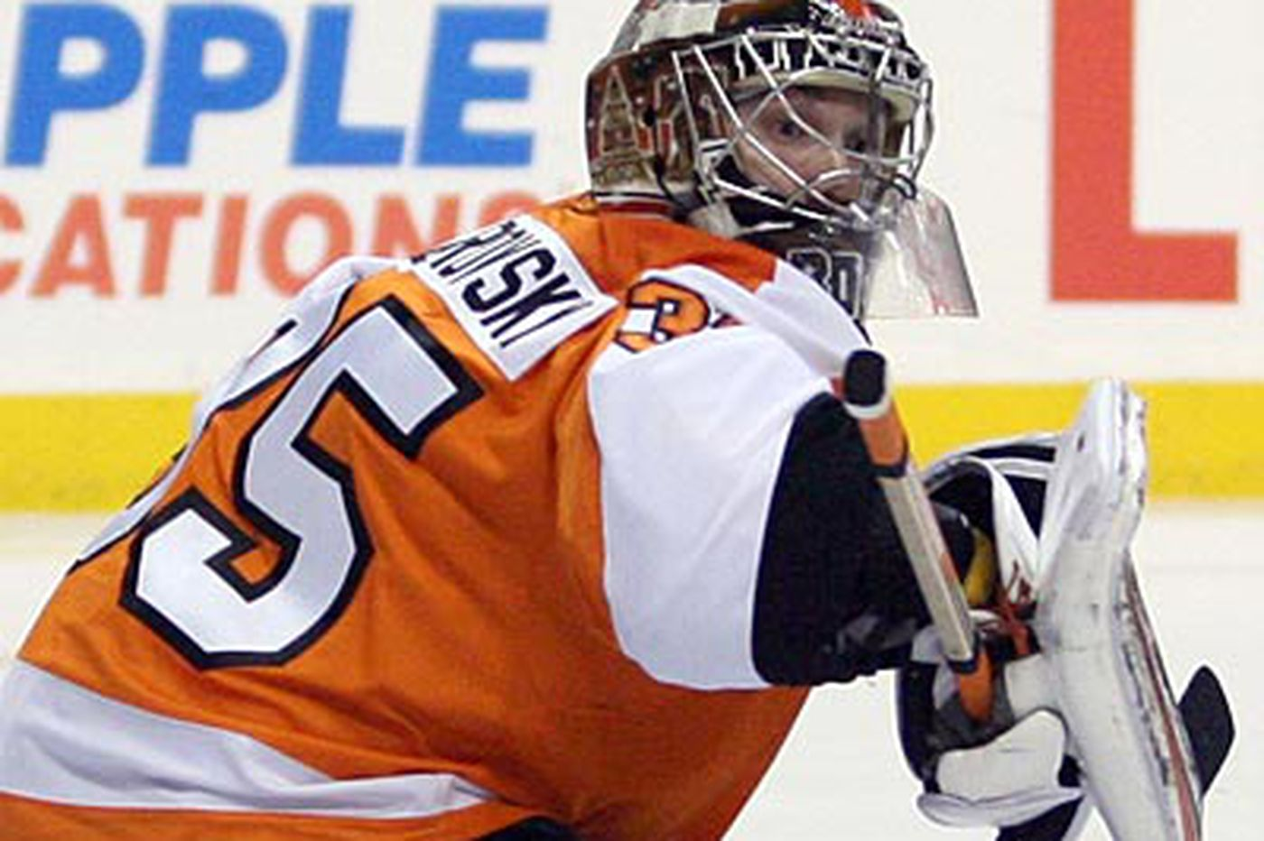 Flyers' rookie goalie might not be polished enough for playoffs