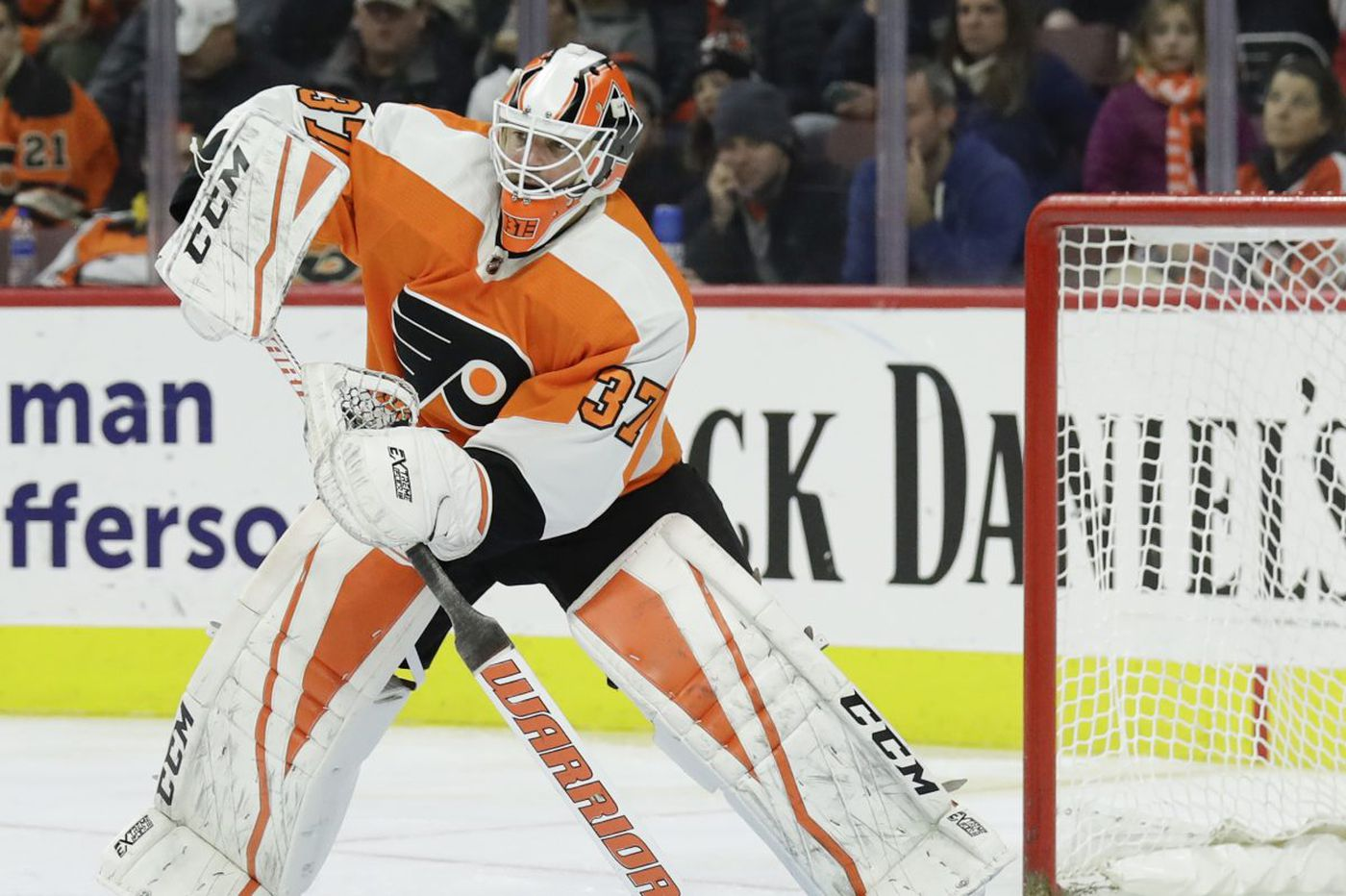 Flyers want to 'emulate' Eagles; Brian Elliott returning to lineup