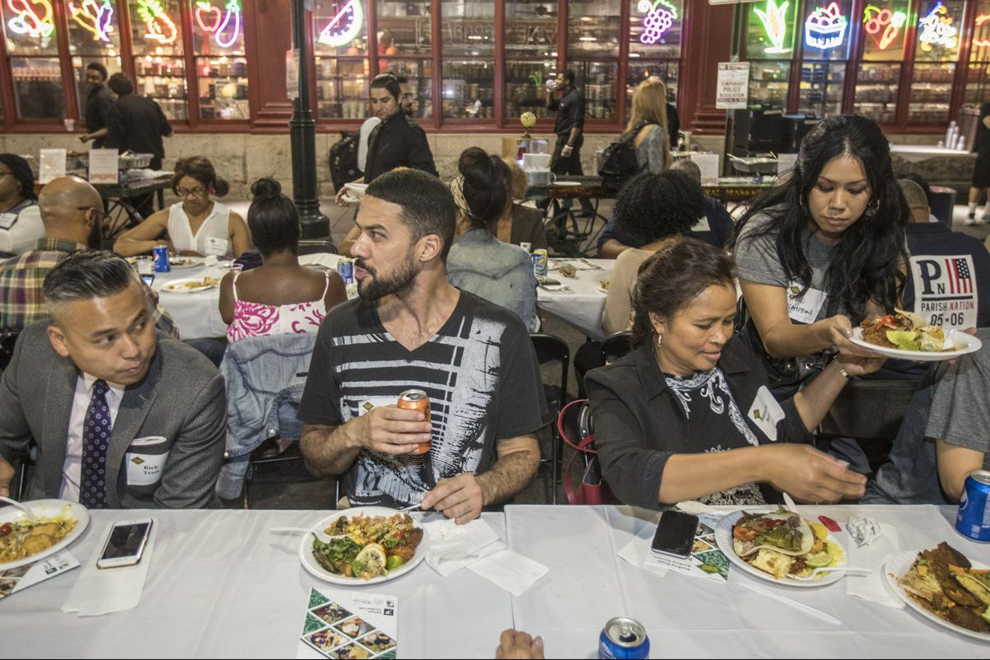 At Reading Terminal Market, cultures come together more than anywhere else in the city