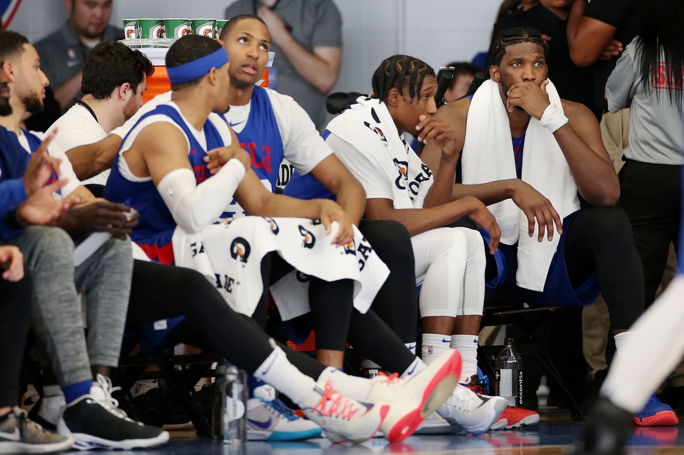 Sixers' starters living up to defensive hype