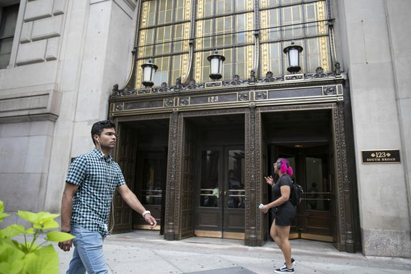 Why does the Wells Fargo Building have its own zip code?