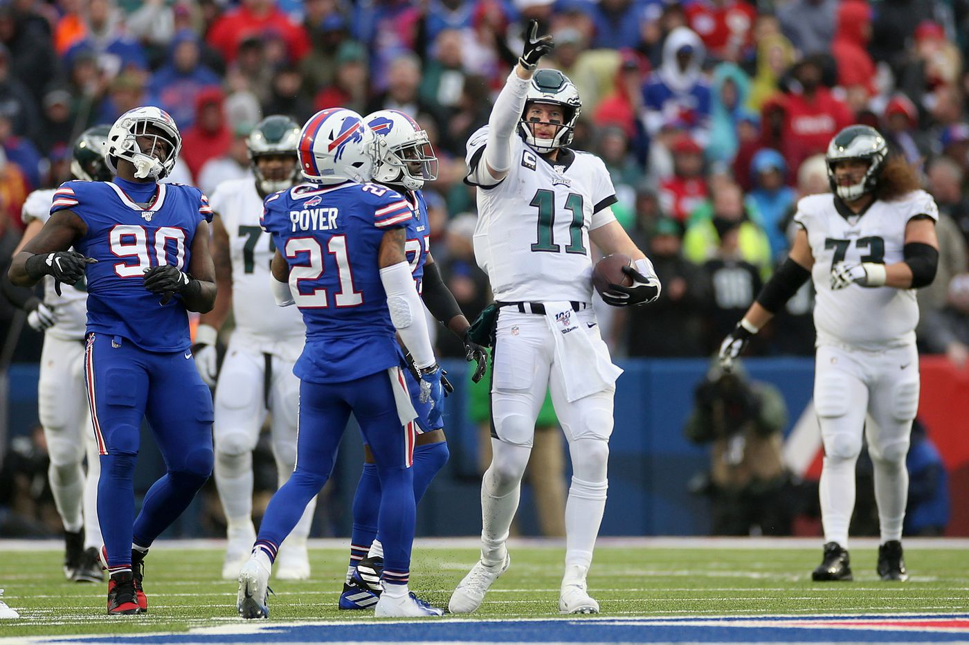 Carson Wentz saves Eagles' season with command performance vs. Bills | Marcus Hayes