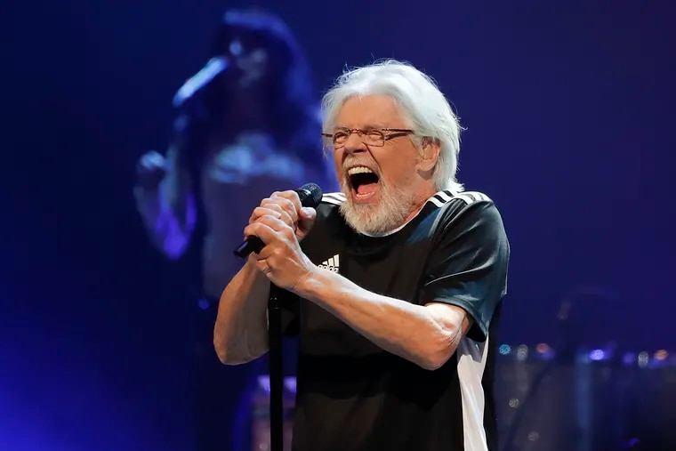 Bob Seger performs during the Roll Me Away tour at the Wells Fargo Center in South Philadelphia on Friday.