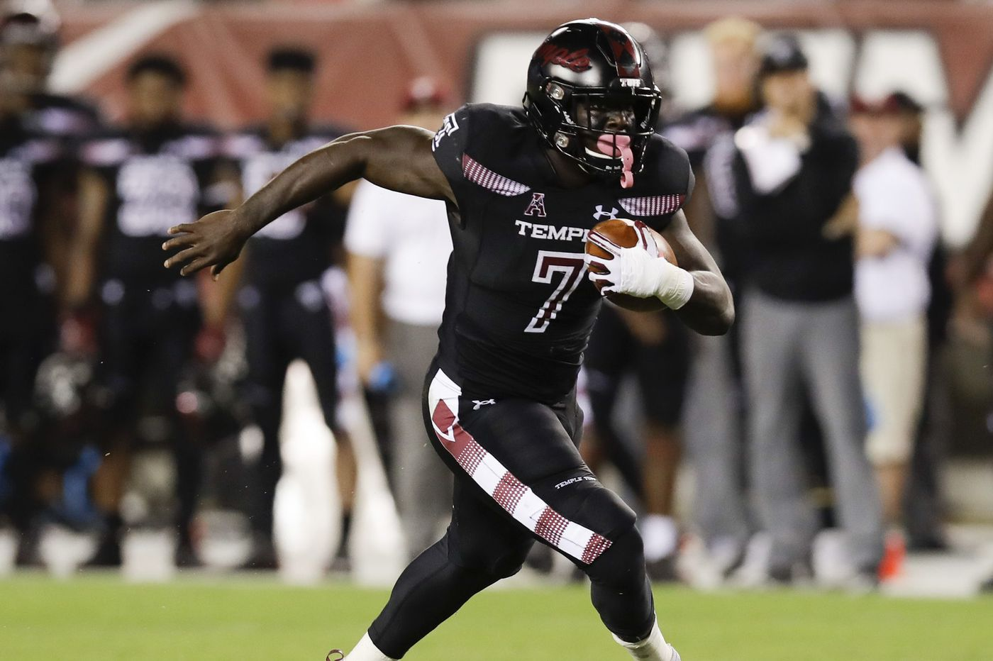Temple's Ryquell Armstead looking ahead after record-setting performance against Houston