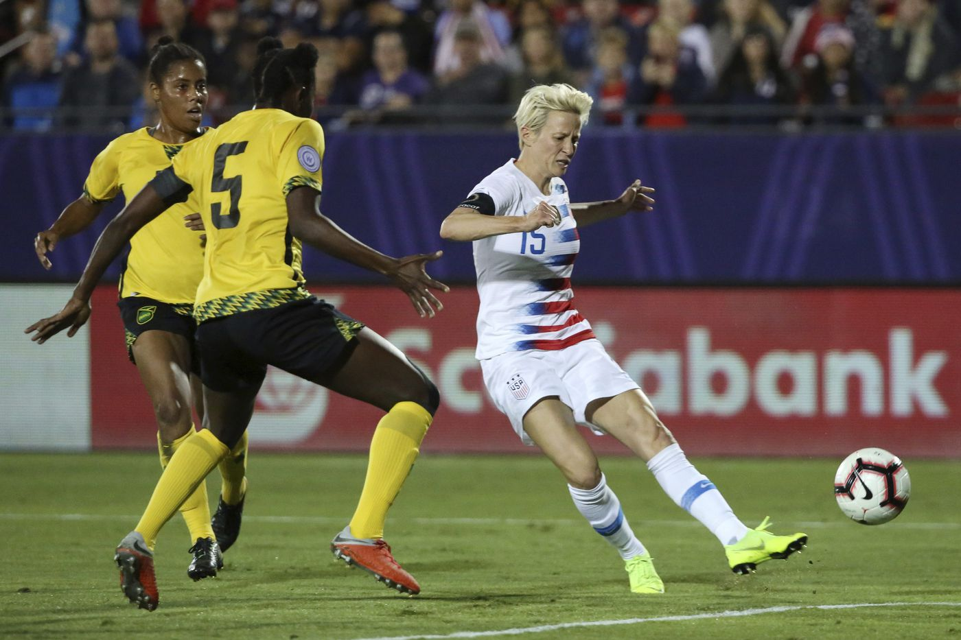 USWNT's Megan Rapinoe says FIFA doesn't 'truly care' about women's soccer