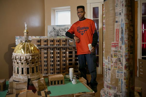 Philly artist who 'just happens to be autistic' is gaining praise for his massive building sculptures | We The People