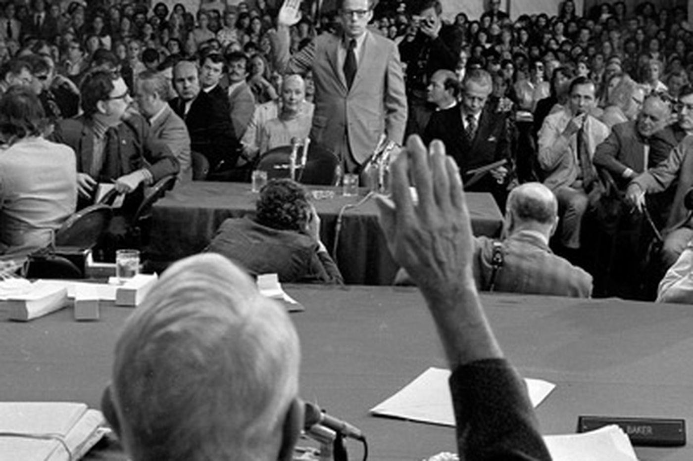 Watergate's John Dean still wonders how so many lawyers got involved