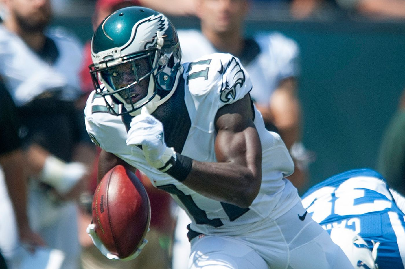 Eagles see big things ahead for Agholor