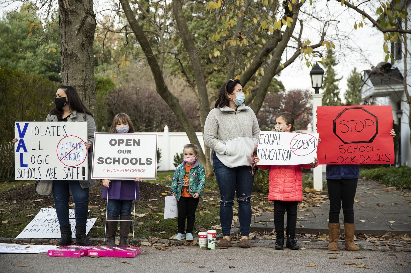 Parents denounce Montgomery County COVID-19 school closures in two weekend protests