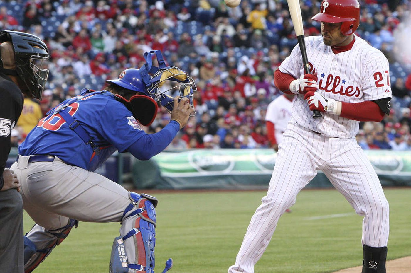 Halladay, Phillies fall to Cubs, 5-1