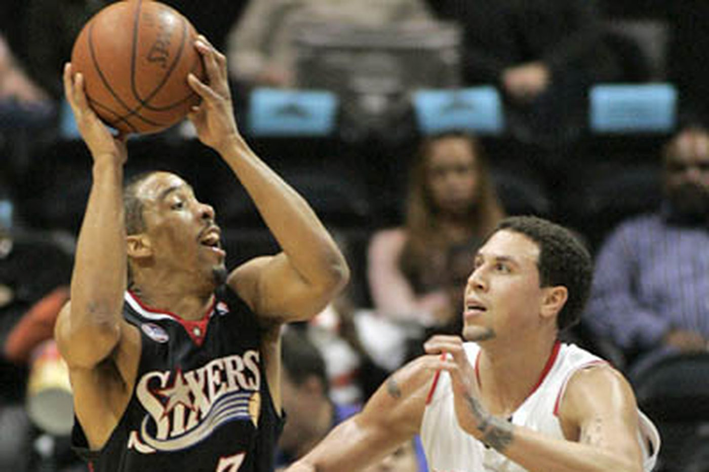 76ers' offer to Bibby was for 1 year