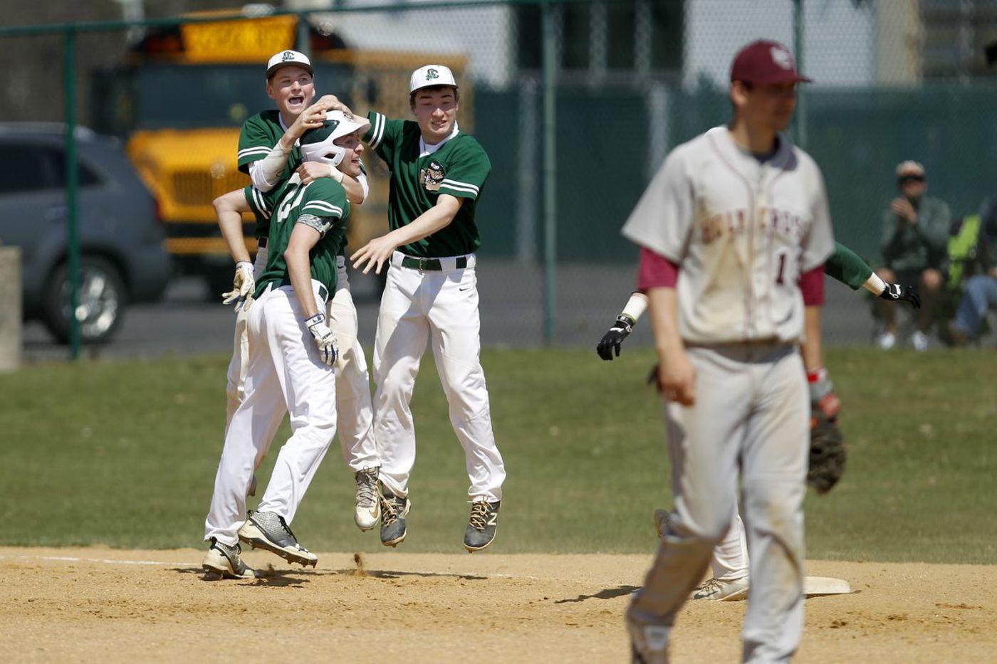 Tom Cava's hit sends Camden Catholic baseball past Holy Cross