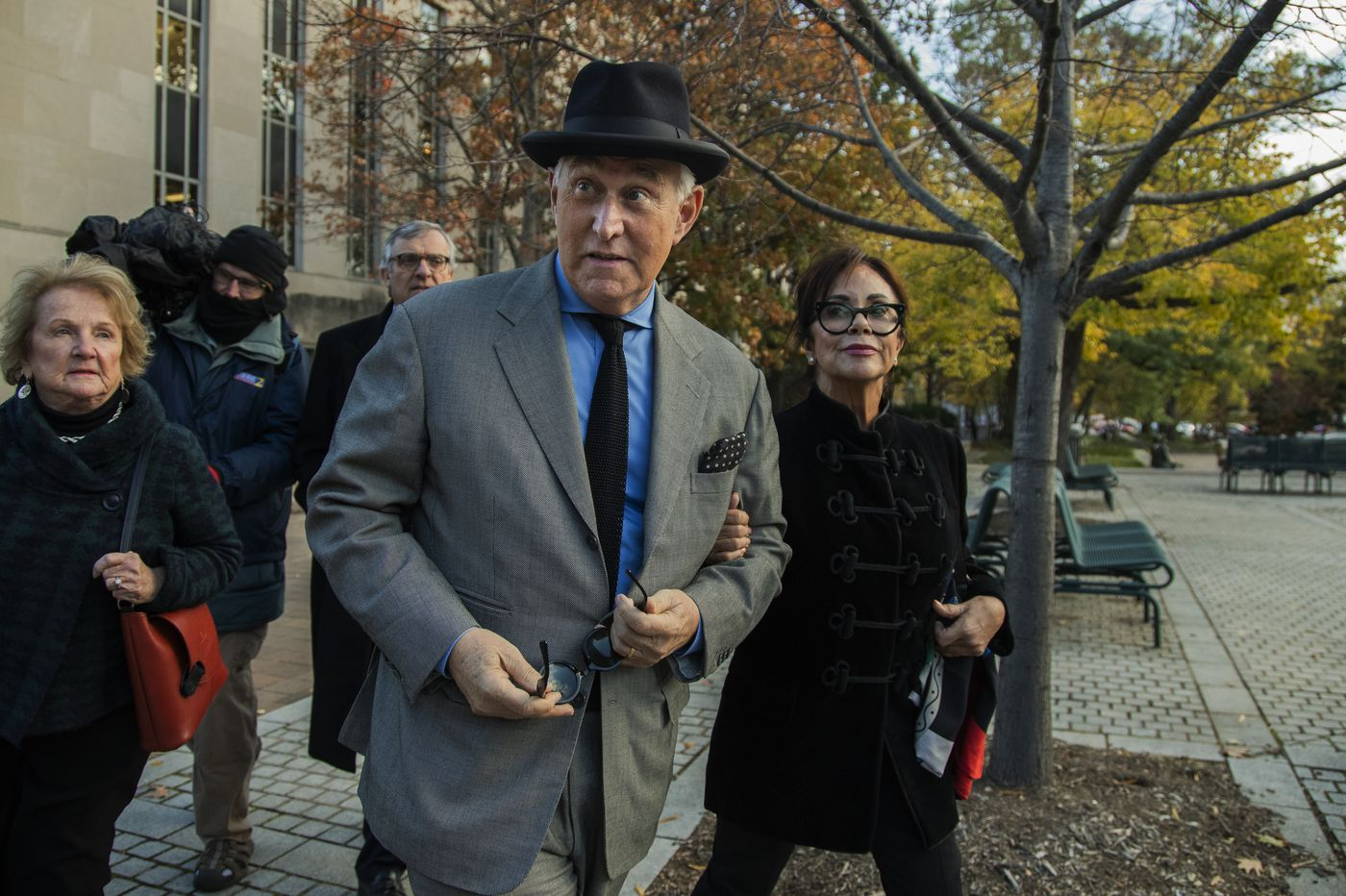 Trump associate Roger Stone guilty of witness tampering, lying to Congress about attempts to contact WikiLeaks