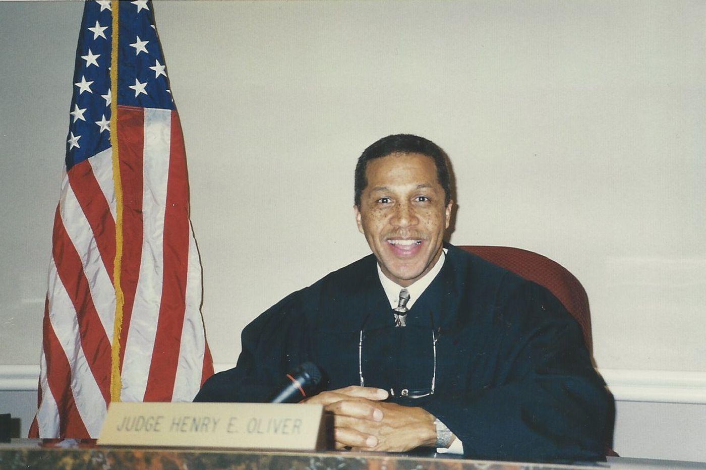 Henry E. Oliver, 77, administrative law judge