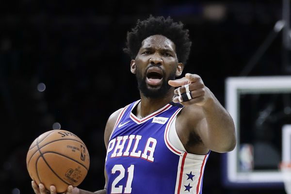 Joel Embiid out for Sixers' Thursday game vs. Boston