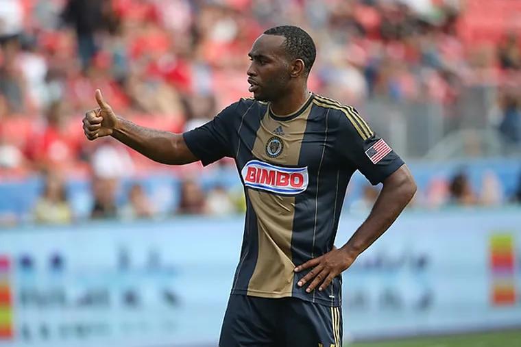 Union midfielder Amobi Okugo is in the last year of his contract. (Tom Szczerbowski/USA Today Sports)