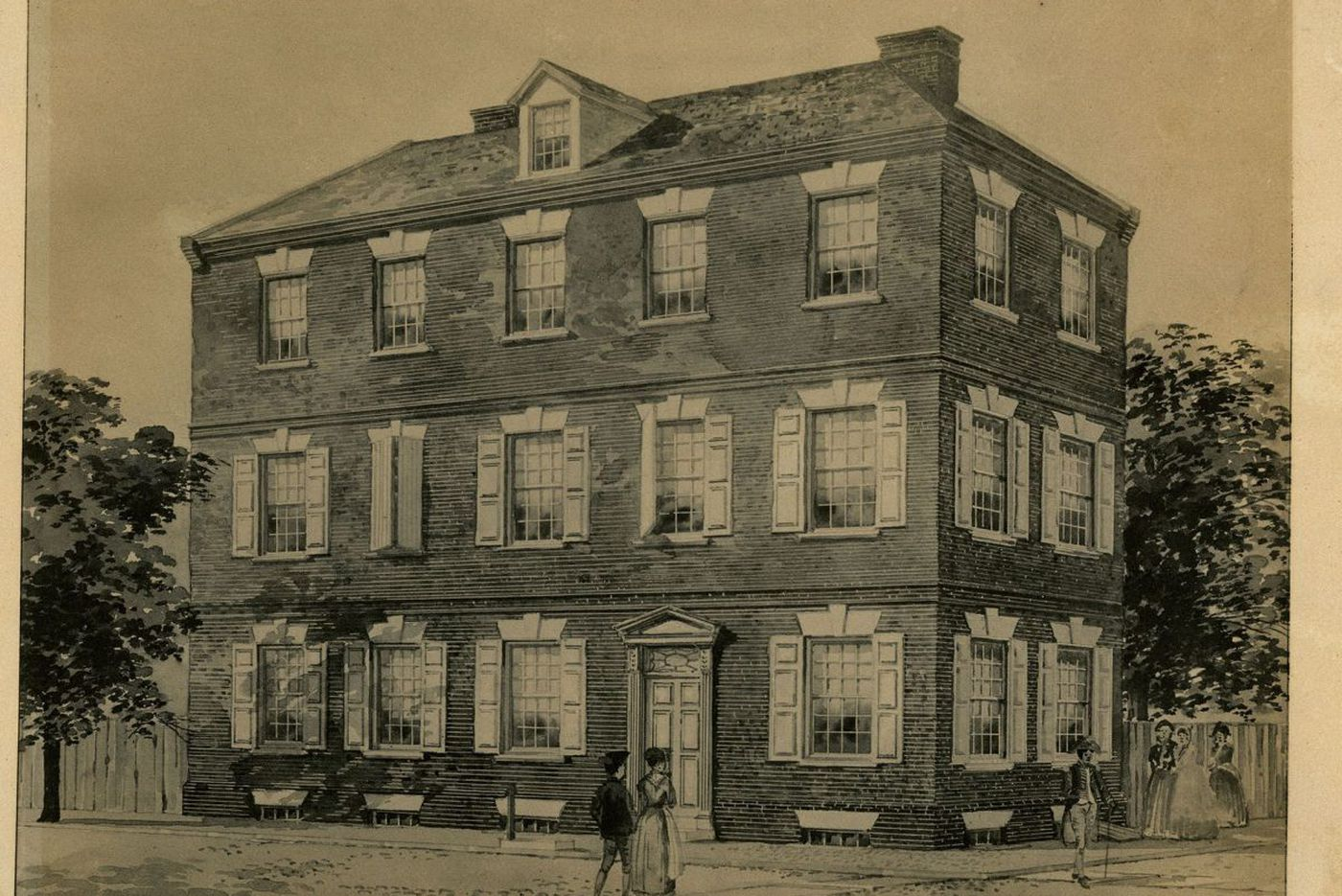 The Philly home where the Declaration of Independence was born