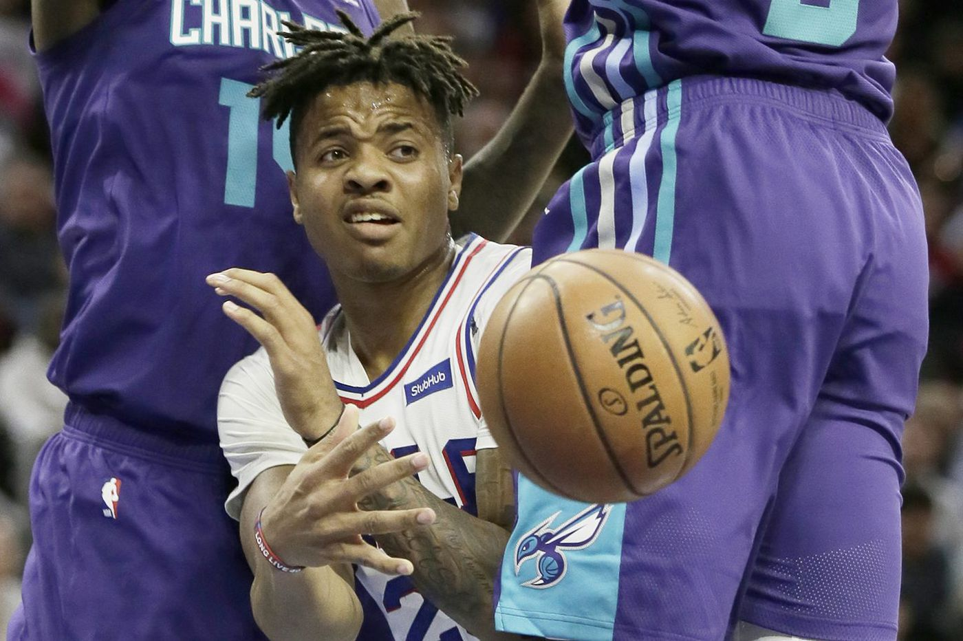 Sixers-Hornets observations  Robert Covington s best game of the season 4d43e9b65