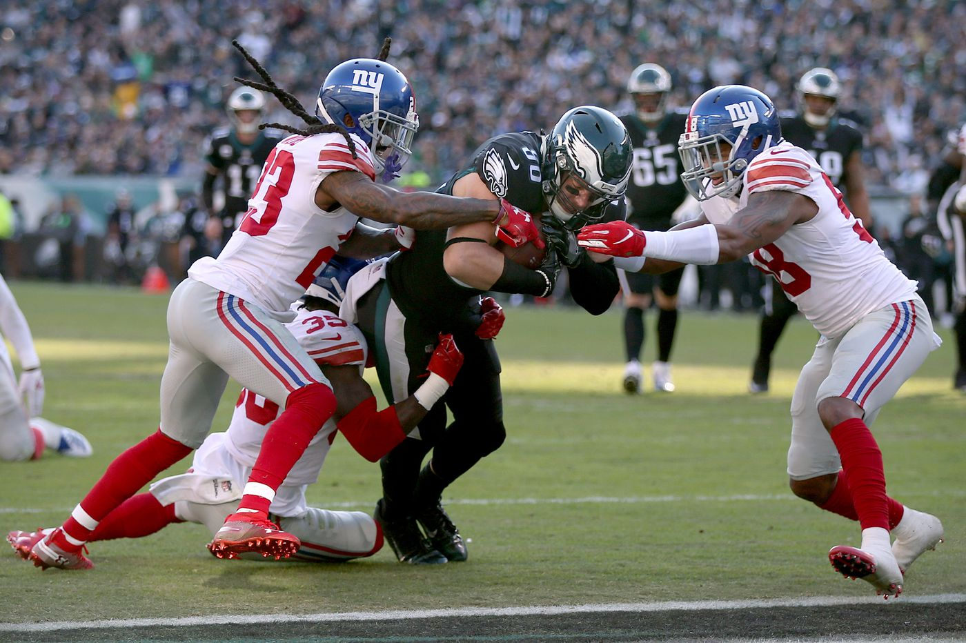 Eagles' offensive leaders turned tide against Giants in the second quarter | Marcus Hayes