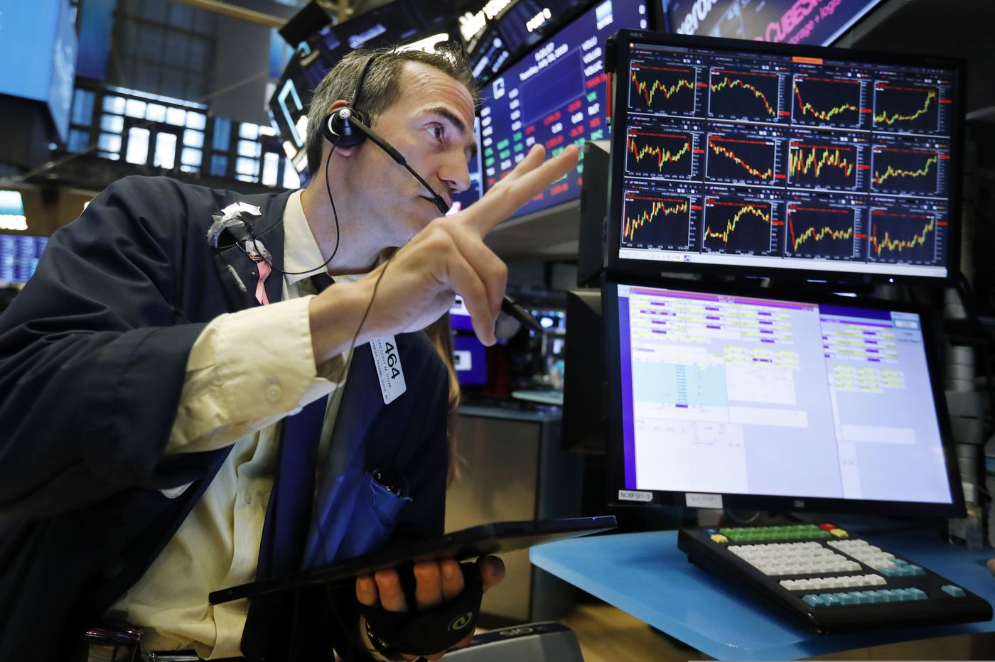 Stocks tank as another recession warning surfaces