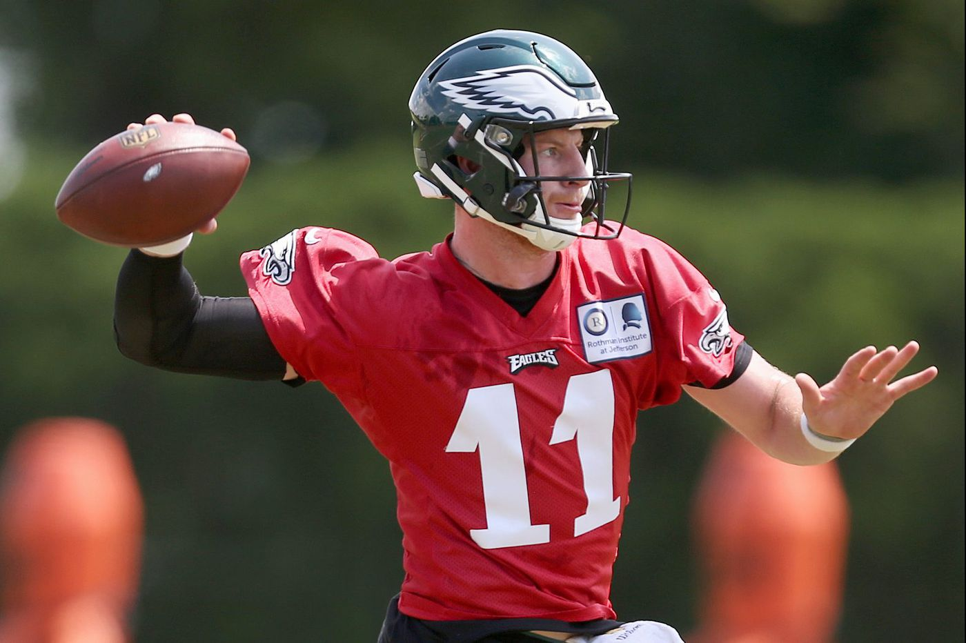 Eagles training camp preview: Carson Wentz's recovery, presence will be intriguing
