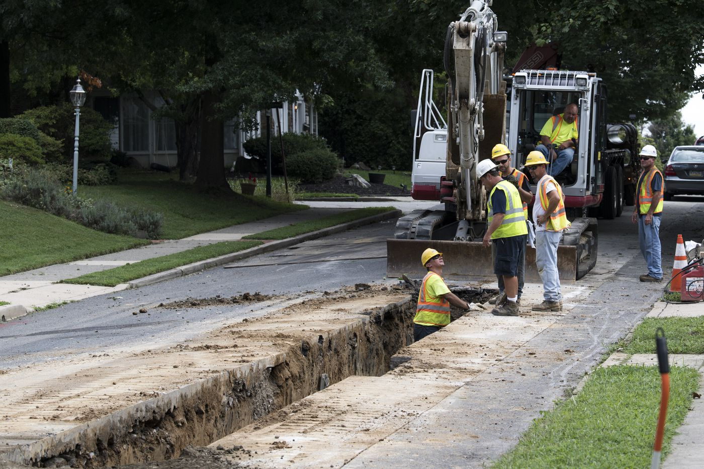 Aqua strikes again, acquiring another Montco sewer system