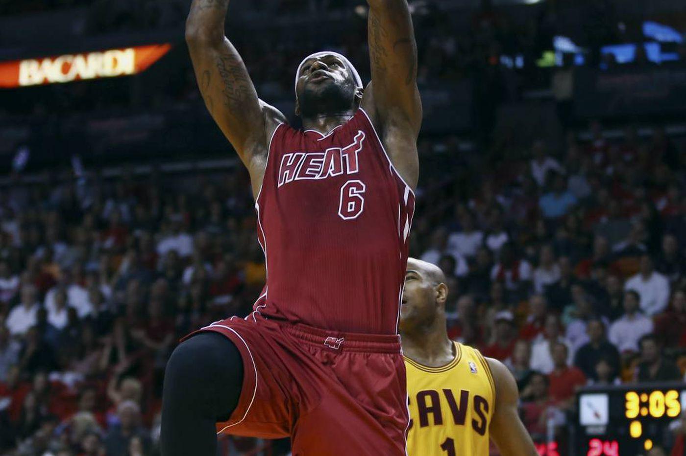 Heat down the Cavaliers