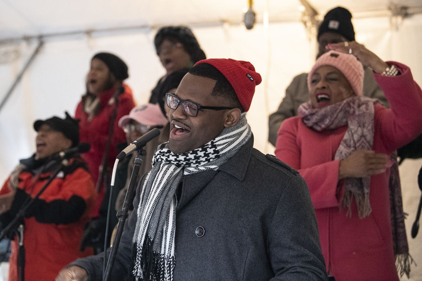 At Mother Bethel, a choir inspires along the Philly marathon route