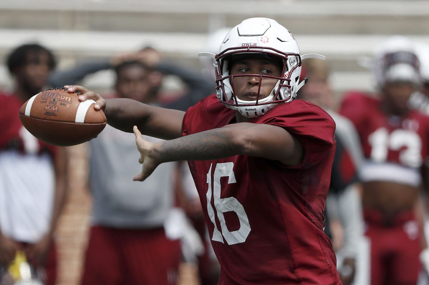 Temple football notes: Todd Centeio impressing at a few positions
