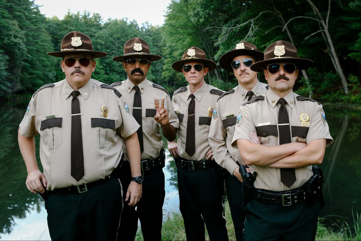 'Super Troopers' returns on 4/20, but the sequel might wreck your buzz