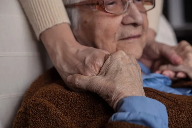 A survey of hospice nurses found that patients were often worried about their families.
