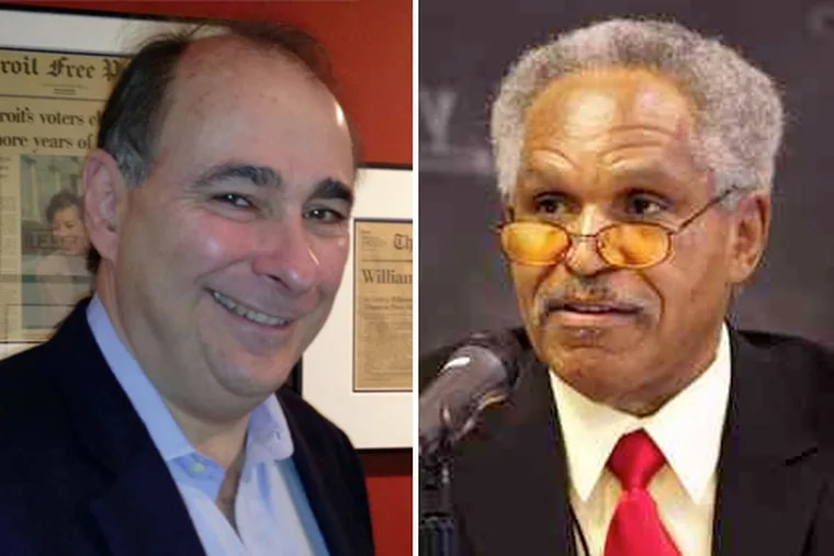 Five years before he helped get Barack Obama elected to the White House, David Axelrod (left) played a pivotal role in keeping John Street in City Hall.