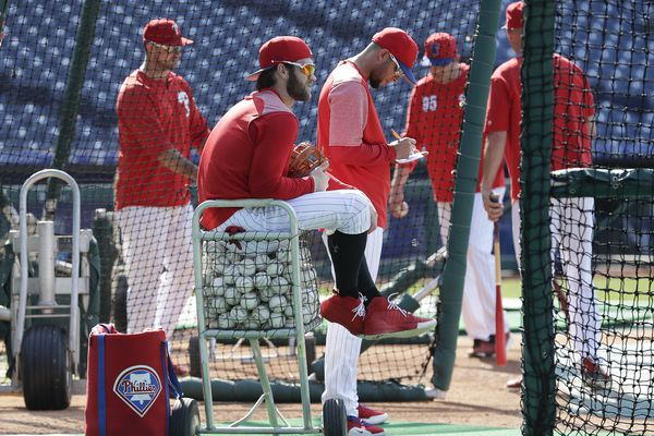 Bryce Harper returns to familiar No. 3 spot in Phillies' batting order vs. Rockies