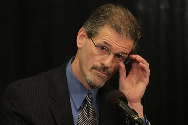 Flyers general manager Ron Hextall. (David Maialetti/Staff file photo)