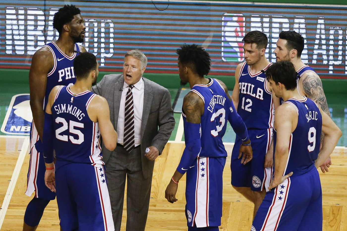 Sixers' magical season ended by Celtics in NBA playoffs