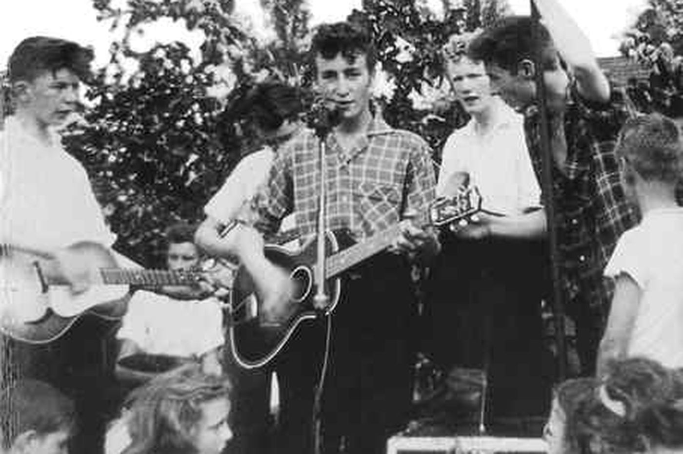 Music: The Quarrymen, John Lennon's old mates, relive their time with the  'Nowhere Boy'