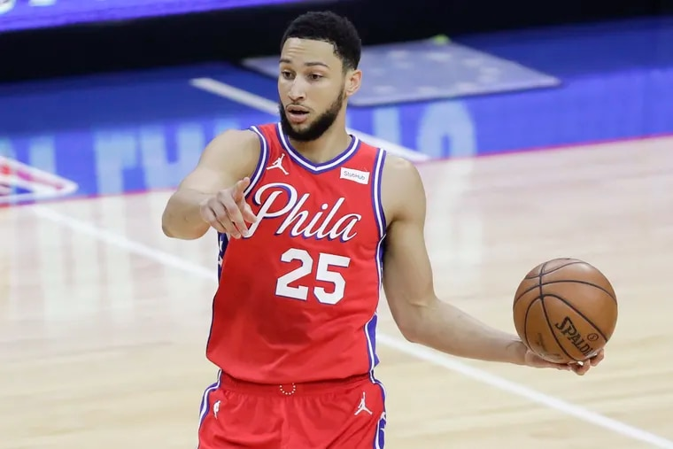 Sixers guard Ben Simmons has listed his Philadelphia home for sale.