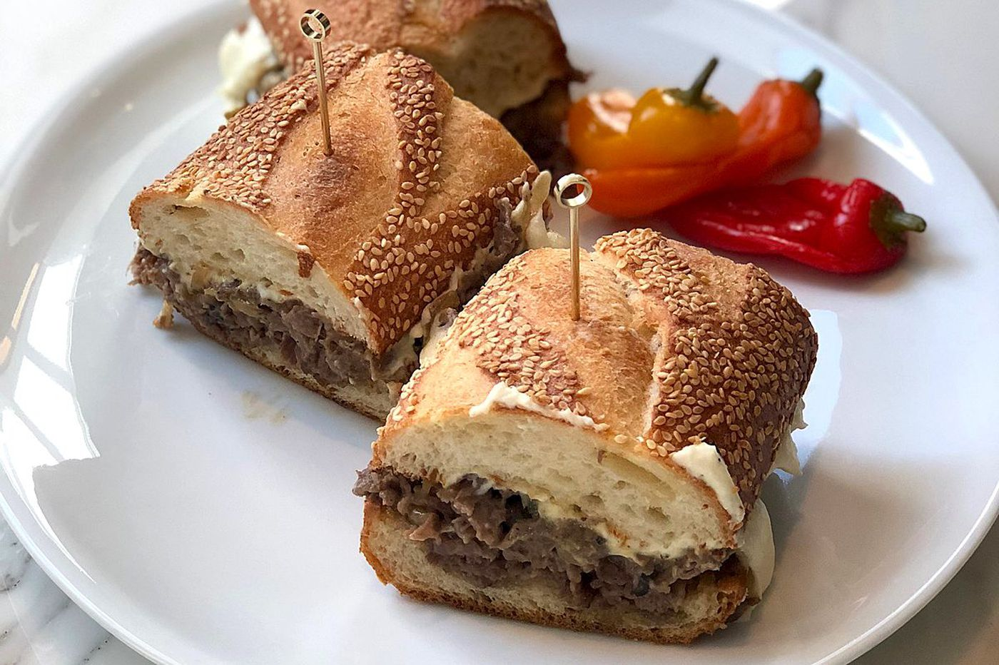 There's a $120 cheesesteak, at Barclay Prime