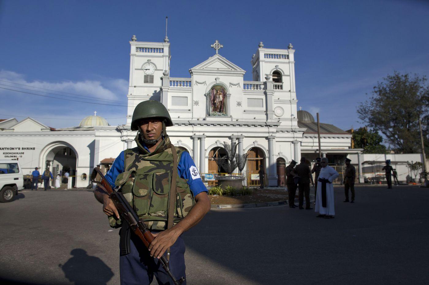 Sri Lanka identifies group suspected in Easter bombings