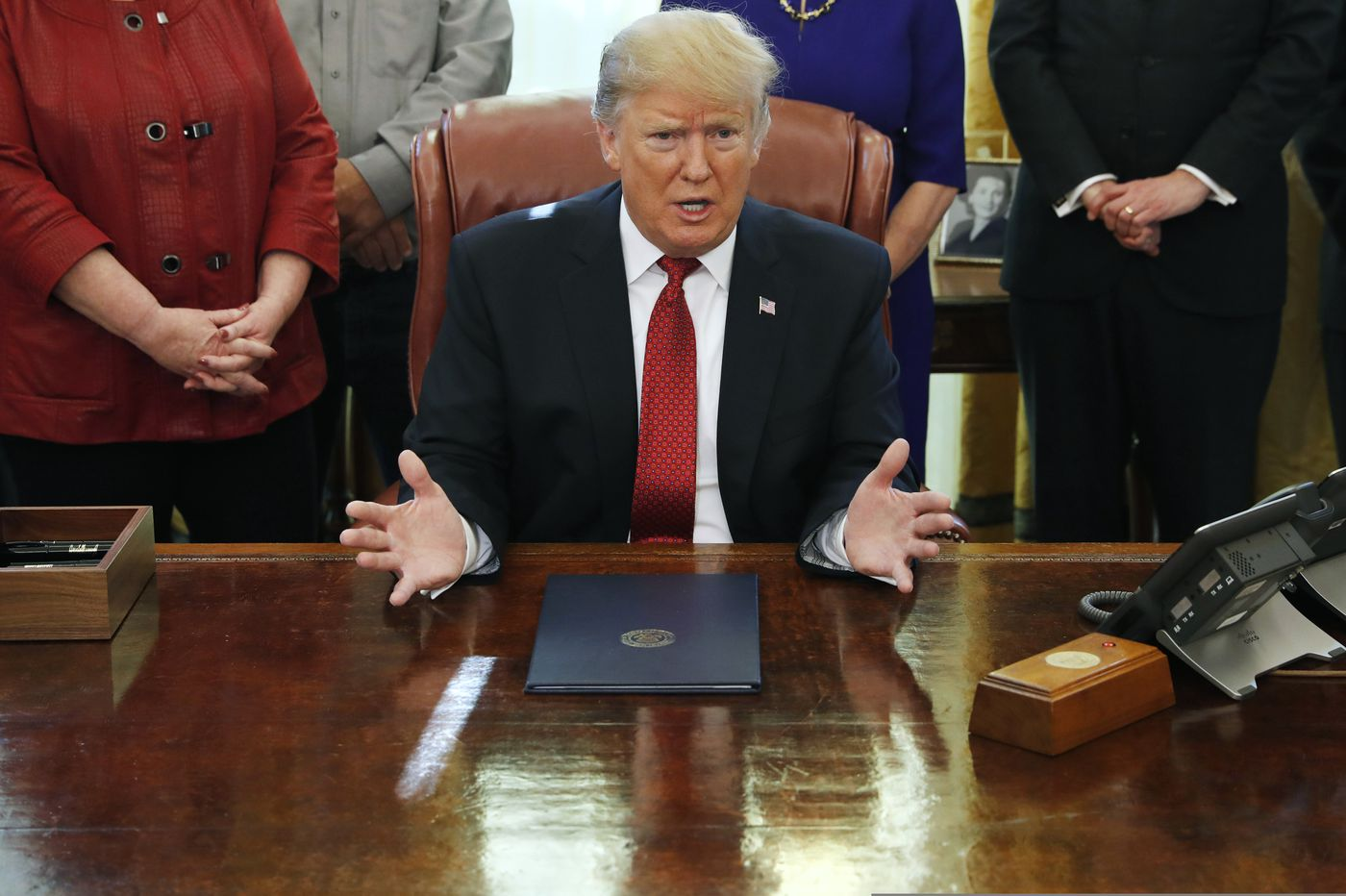 Getting closer to declaring a national emergency: Donald Trump