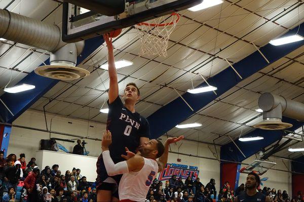 Penn basketball beats Delaware State behind freshman Bryce Washington