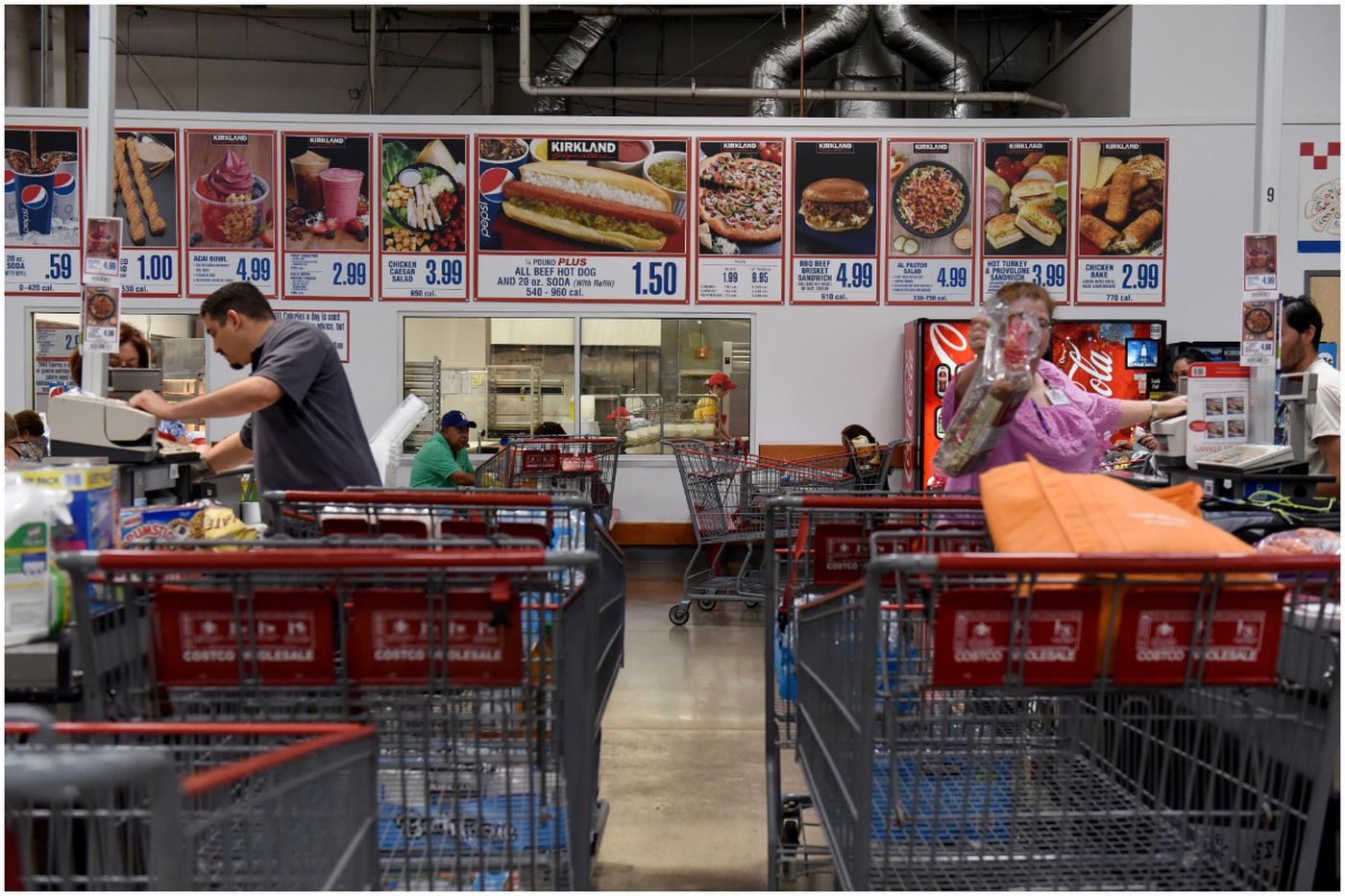 Costco is taking Polish hot dogs off its food-court menu. People are angry