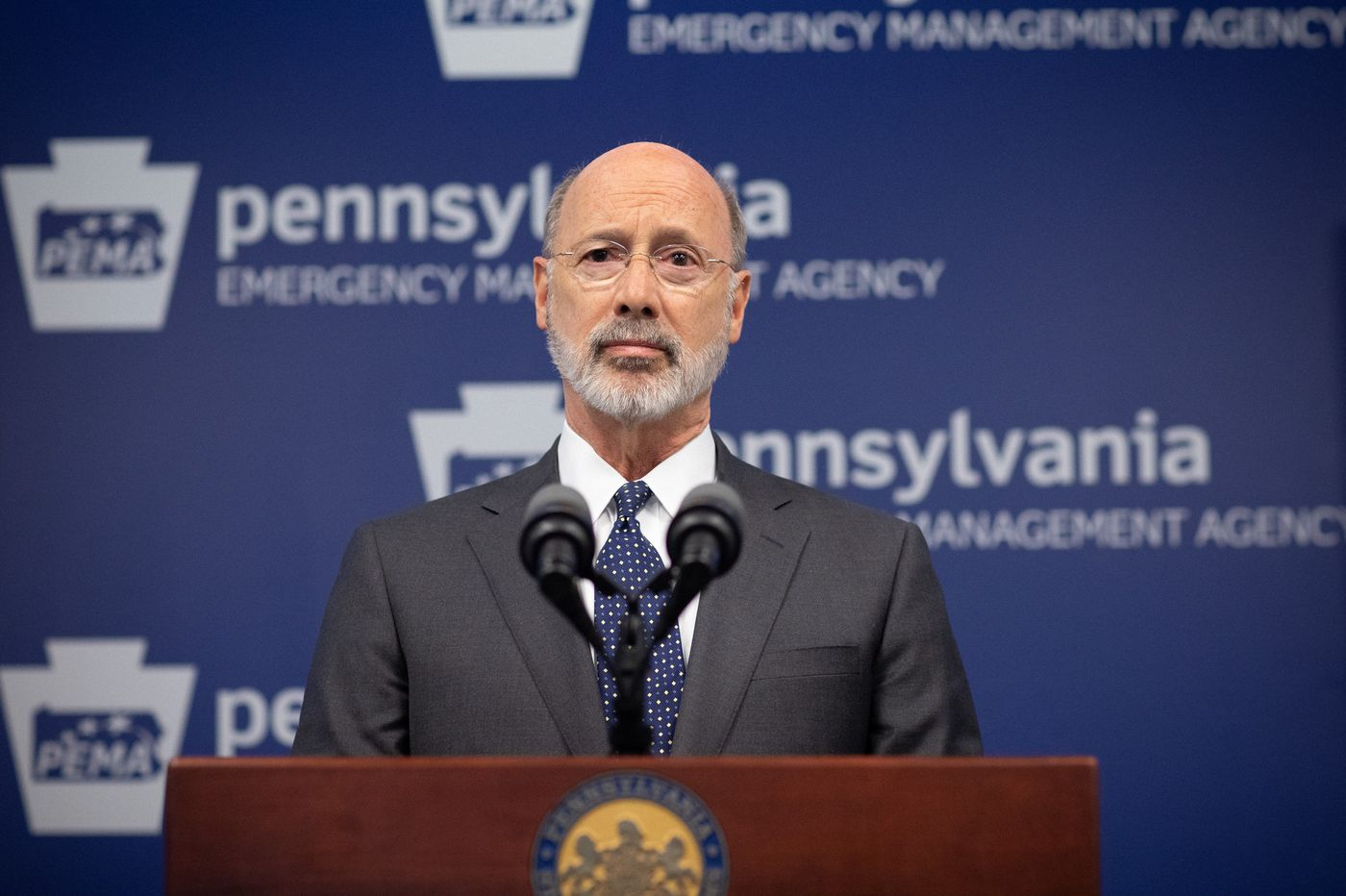 Can Gov. Wolf withhold coronavirus recovery money from counties that defy shutdown orders? Yes, experts say, but expect pushback.