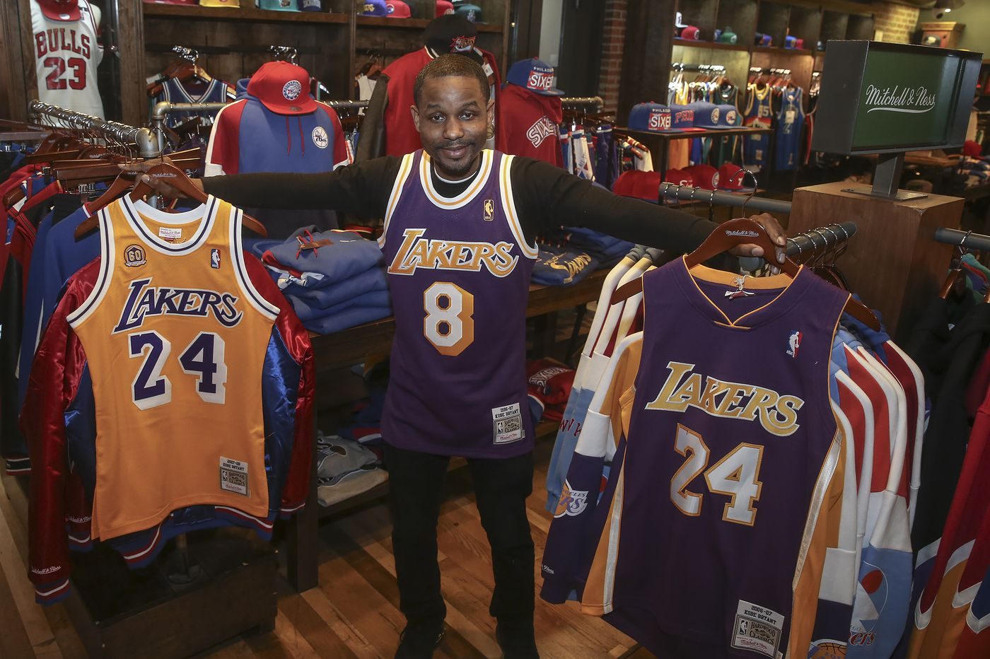 Philly's Mitchell & Ness keeps Kobe merch prices level amid sales boom