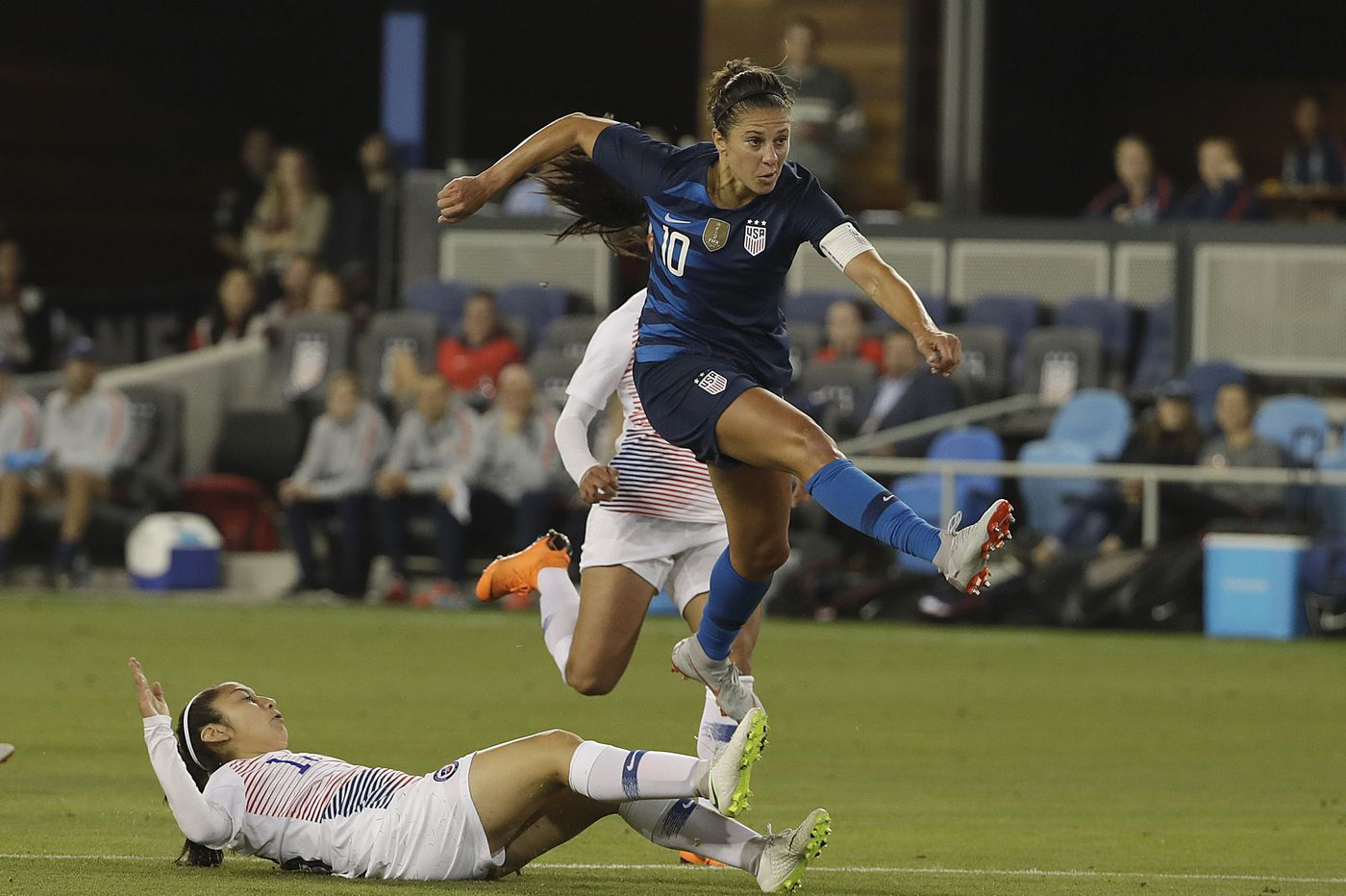 huge selection of 318ae f8cb1 Carli Lloyd adjusts to USWNT bench for World Cup prep in Europe