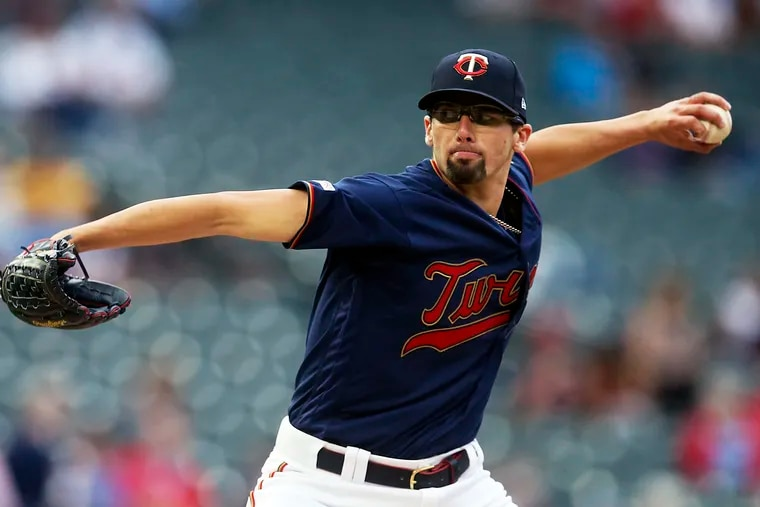 Devin Smeltzer made his major-league debut on Tuesday.