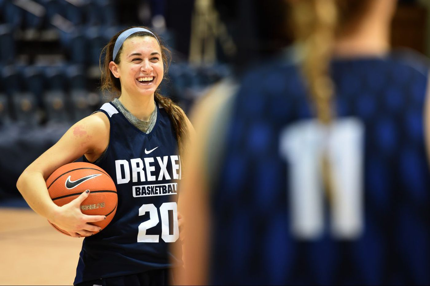 Drexel basketball player Hannah Nihill's greatest assist went to her sister