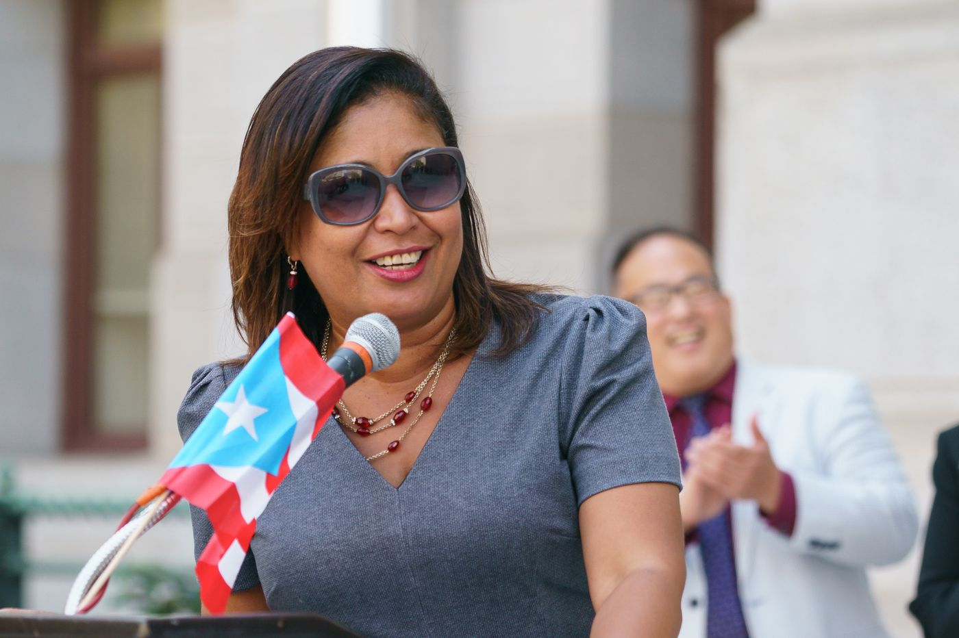 With leadership race looming, Maria Quiñones-Sánchez calls on Philly Council colleague Bobby Henon to resign